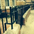 Hand Made Railings in Yeovil