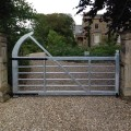 Steel 5 Bar Gate